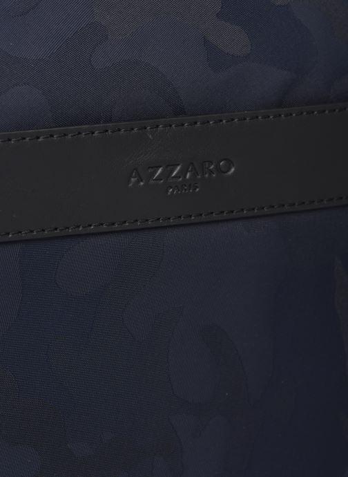 Bolsos de hombre Azzaro EMBUSC CROSSBODY Azul vista lateral izquierda