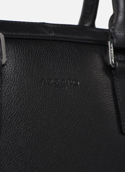 Laptop cases Azzaro HOLD ON PORTE ORDINATEUR Black view from the left