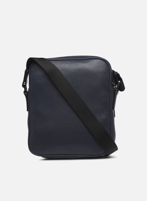 Sacs homme Azzaro HOLD ON CROSS BODY Bleu vue face