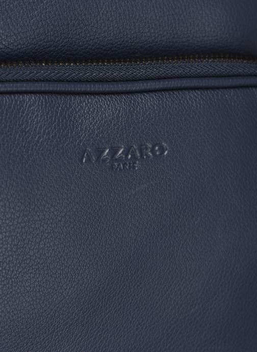 Sacs homme Azzaro HOLD ON CROSS BODY Bleu vue gauche
