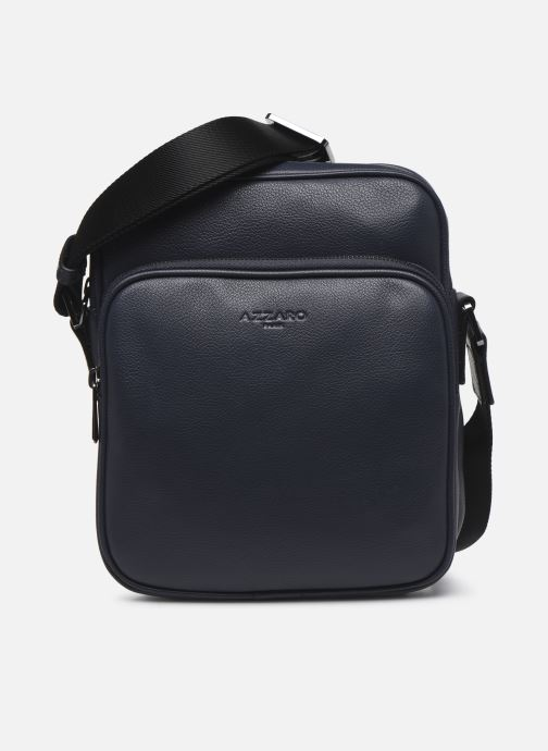 Sacs homme Azzaro HOLD ON CROSS BODY Bleu vue détail/paire