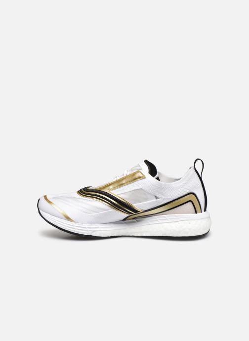 Sportschuhe adidas by Stella McCartney Boston S. weiß ansicht von vorne