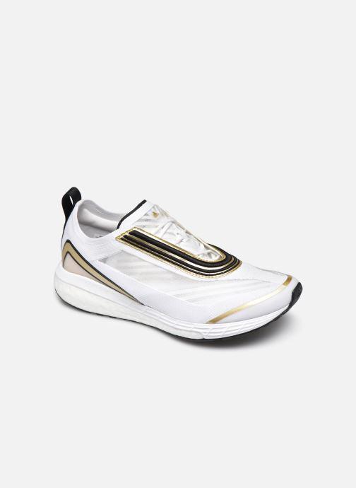 Chaussures de sport adidas by Stella McCartney Boston S. Blanc vue détail/paire