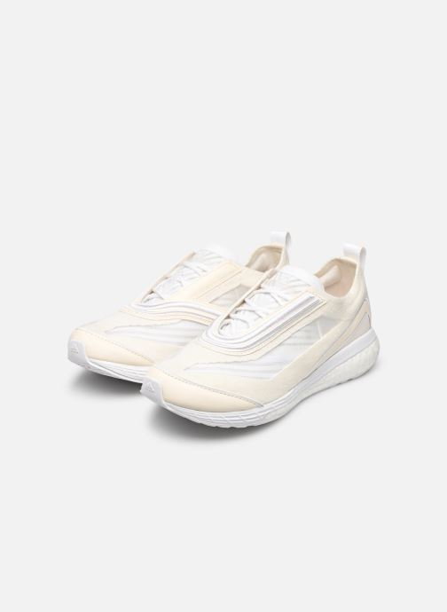 Zapatillas de deporte adidas by Stella McCartney Boston S. Blanco vista de abajo