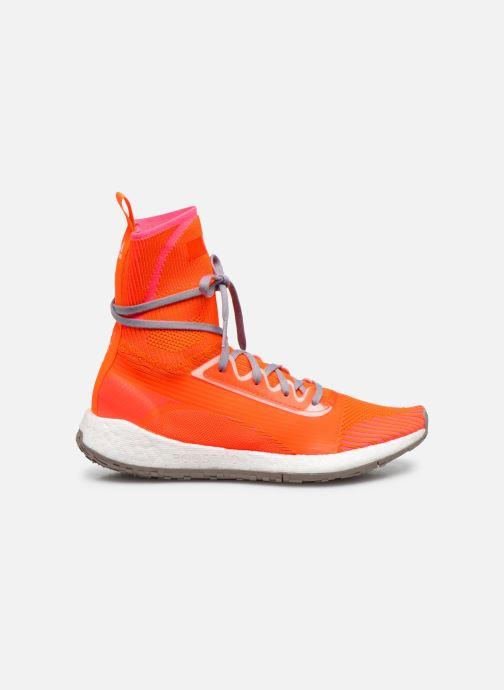 Sneaker adidas by Stella McCartney Pulseboost Hd Mid S. orange ansicht von hinten