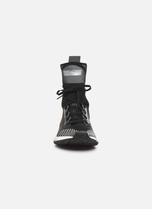 Sneaker adidas by Stella McCartney Pulseboost Hd Mid S. schwarz schuhe getragen
