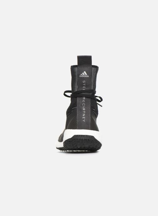 Sneaker adidas by Stella McCartney Pulseboost Hd Mid S. schwarz ansicht von rechts
