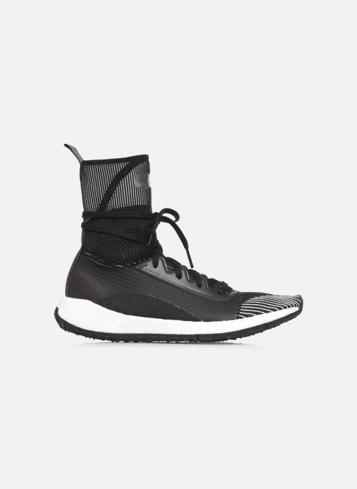 Sneaker adidas by Stella McCartney Pulseboost Hd Mid S. schwarz ansicht von hinten