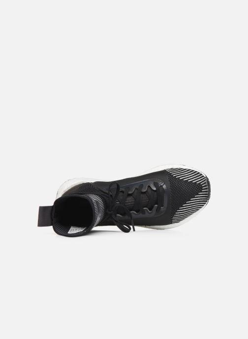 Sneaker adidas by Stella McCartney Pulseboost Hd Mid S. schwarz ansicht von links
