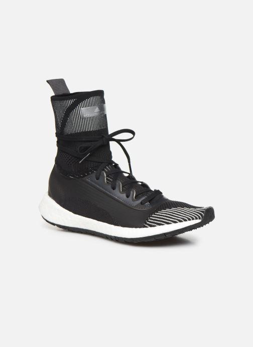 Sneaker adidas by Stella McCartney Pulseboost Hd Mid S. schwarz detaillierte ansicht/modell