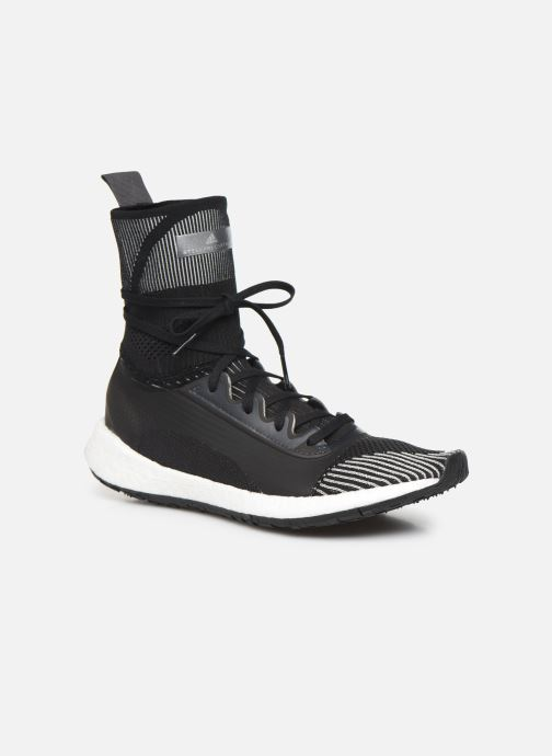 Baskets adidas by Stella McCartney Pulseboost Hd Mid S. Noir vue détail/paire