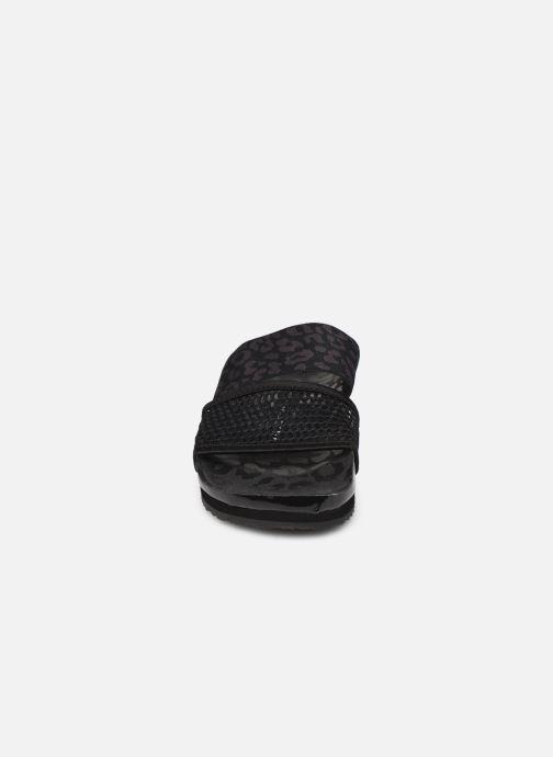 Zuecos adidas by Stella McCartney Stella-Lette Negro vista del modelo