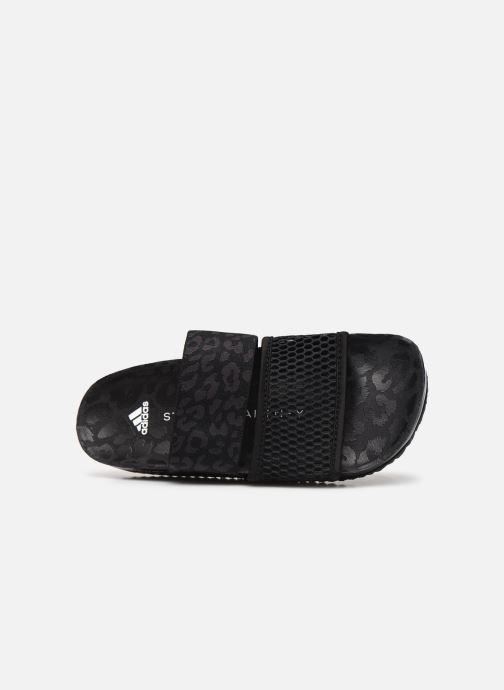 Clogs & Pantoletten adidas by Stella McCartney Stella-Lette schwarz ansicht von links
