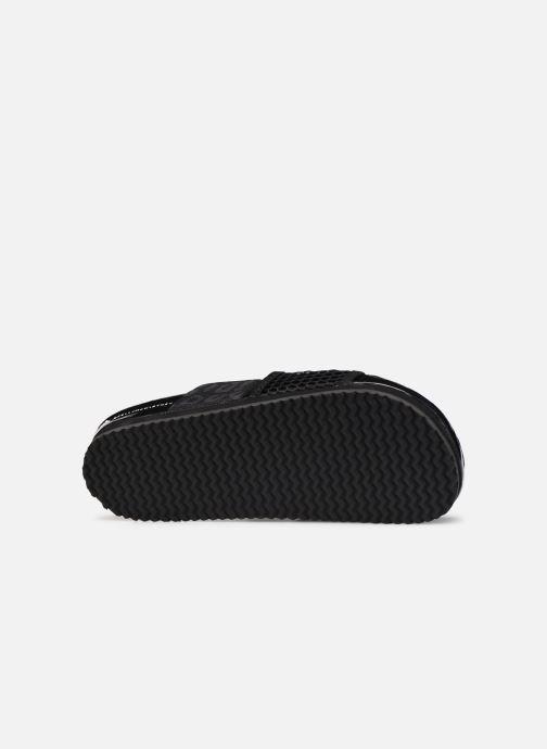 Clogs & Pantoletten adidas by Stella McCartney Stella-Lette schwarz ansicht von oben