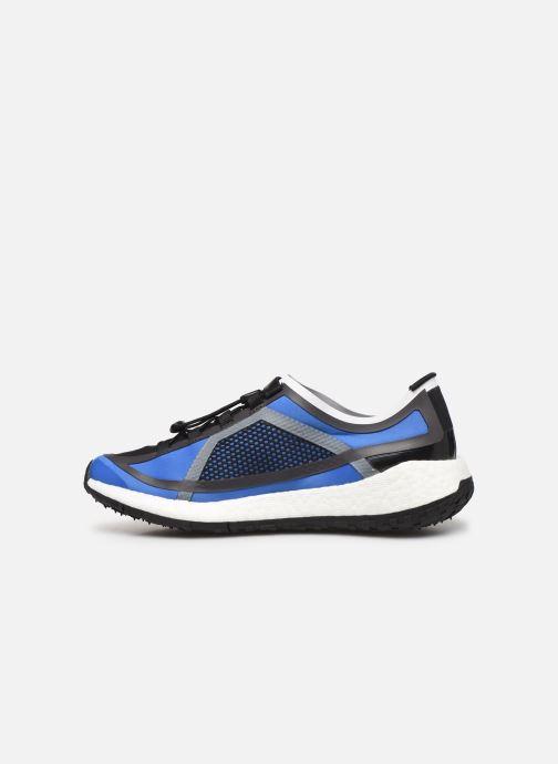 Sportschuhe adidas by Stella McCartney Pulseboost Hd S. blau ansicht von vorne