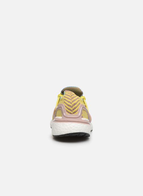 Chaussures de sport adidas by Stella McCartney Ultraboost 20 S. Jaune vue droite