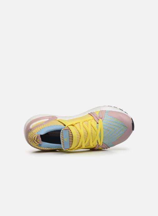 Zapatillas de deporte adidas by Stella McCartney Ultraboost 20 S. Amarillo vista lateral izquierda