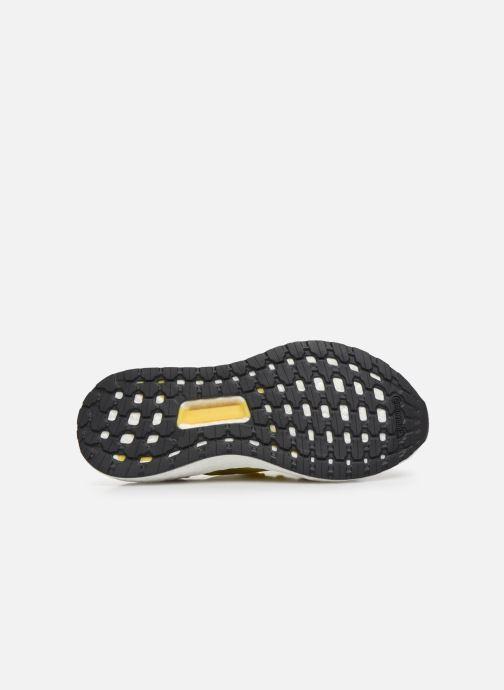 Chaussures de sport adidas by Stella McCartney Ultraboost 20 S. Jaune vue haut