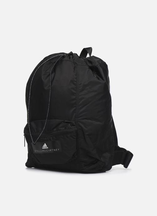 Sporttaschen adidas by Stella McCartney Gymsack schwarz schuhe getragen