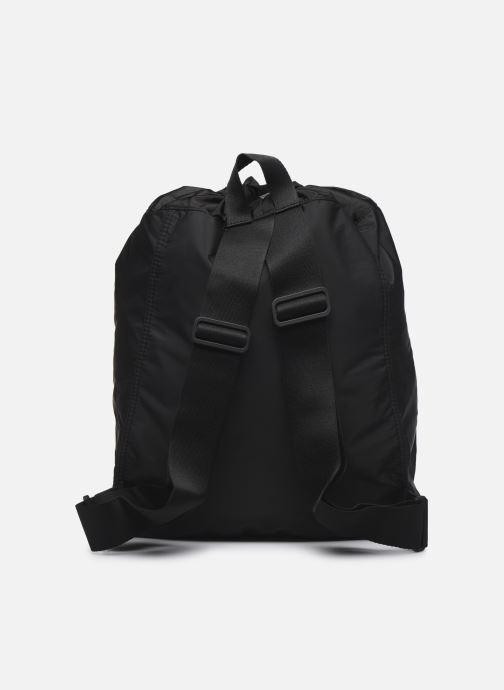 Sporttaschen adidas by Stella McCartney Gymsack schwarz ansicht von vorne