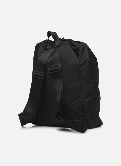 Sporttaschen adidas by Stella McCartney Gymsack schwarz ansicht von rechts