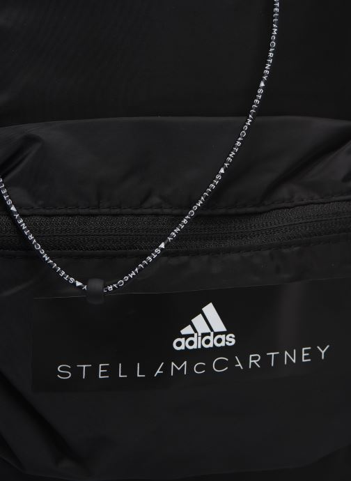 Sporttaschen adidas by Stella McCartney Gymsack schwarz ansicht von links