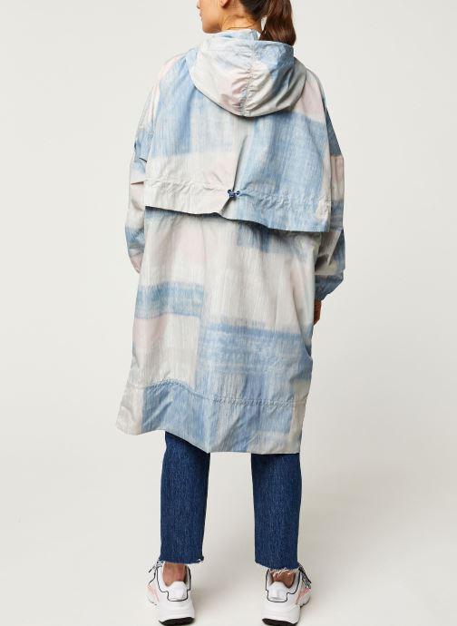 Vêtements adidas by Stella McCartney Parka Printed Multicolore vue portées chaussures