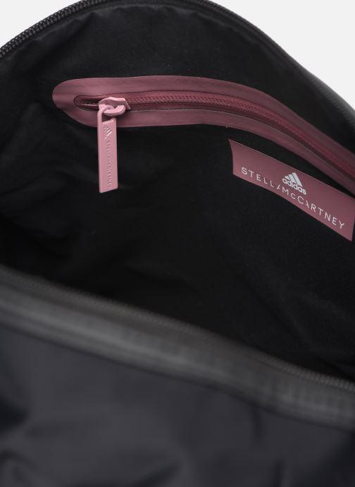 Sporttassen adidas by Stella McCartney Round Duffel S Zwart achterkant