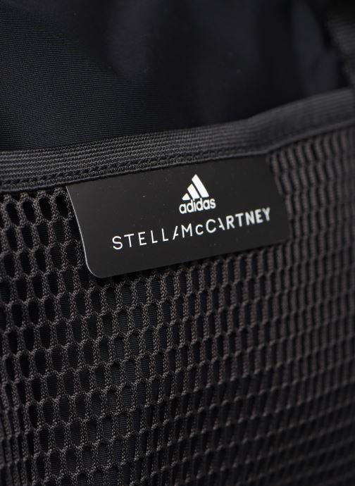 Borsa da palestra adidas by Stella McCartney Round Duffel S Nero immagine sinistra