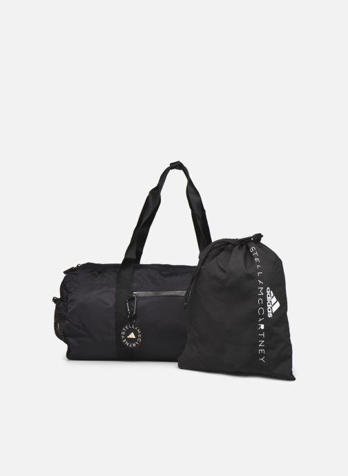 Sporttaschen adidas by Stella McCartney Round Duffel S schwarz ansicht von vorne