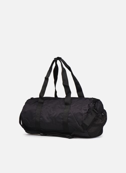 Sporttaschen adidas by Stella McCartney Round Duffel S schwarz ansicht von links