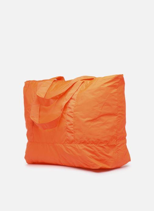 Bolsas de deporte adidas by Stella McCartney Large Tote Naranja vista lateral derecha