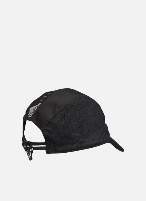 Cappellino adidas by Stella McCartney Run Cap Snake Nero immagine frontale