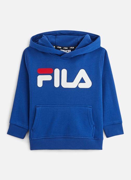 Kleding FILA Classic Logo Hoody 687745 Blauw detail