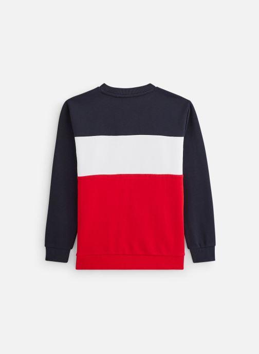 Vêtements FILA Night Blocked Crew Shirt 688093 Rouge vue bas / vue portée sac