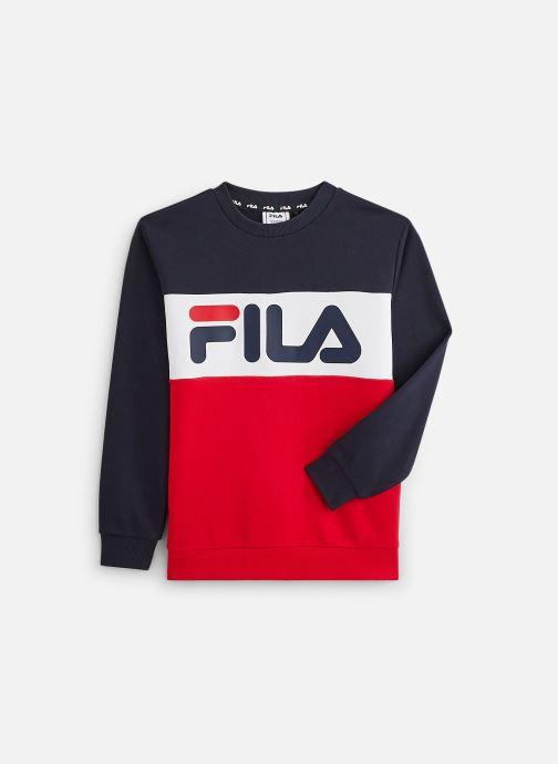 Vêtements FILA Night Blocked Crew Shirt 688093 Rouge vue détail/paire