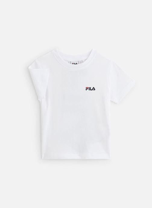 Vêtements FILA Tarlo Tee Blanc vue détail/paire