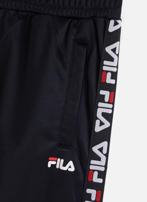 Vêtements FILA Talisa Track Pants Noir vue portées chaussures