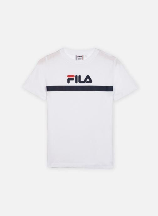 Vêtements FILA Teal Tee Blanc vue détail/paire