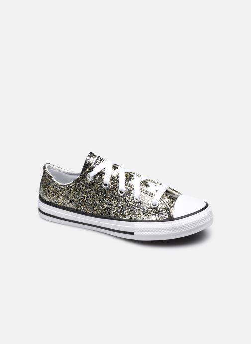 Sneakers Converse Chuck Taylor All Star Coated Glitter Ox Oro e bronzo vedi dettaglio/paio