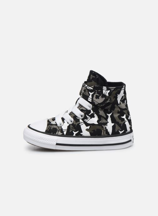 Trainers Converse Chuck Taylor All Star 1V Shark Bite Hi Black front view