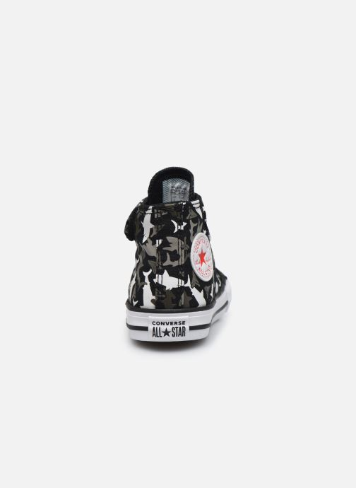 Trainers Converse Chuck Taylor All Star 1V Shark Bite Hi Black view from the right