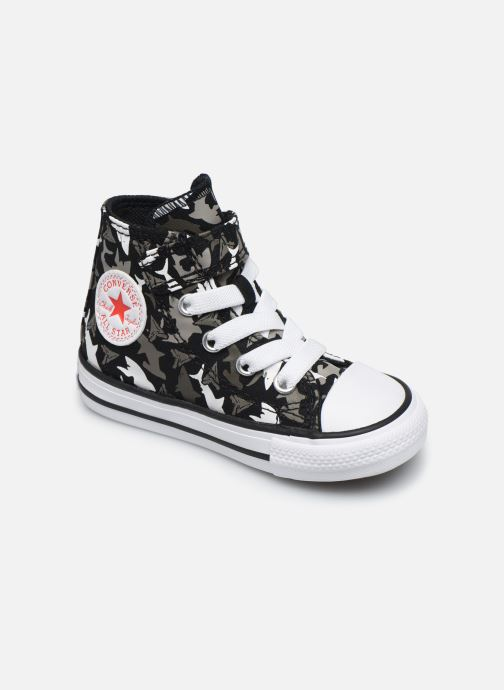 Trainers Converse Chuck Taylor All Star 1V Shark Bite Hi Black detailed view/ Pair view