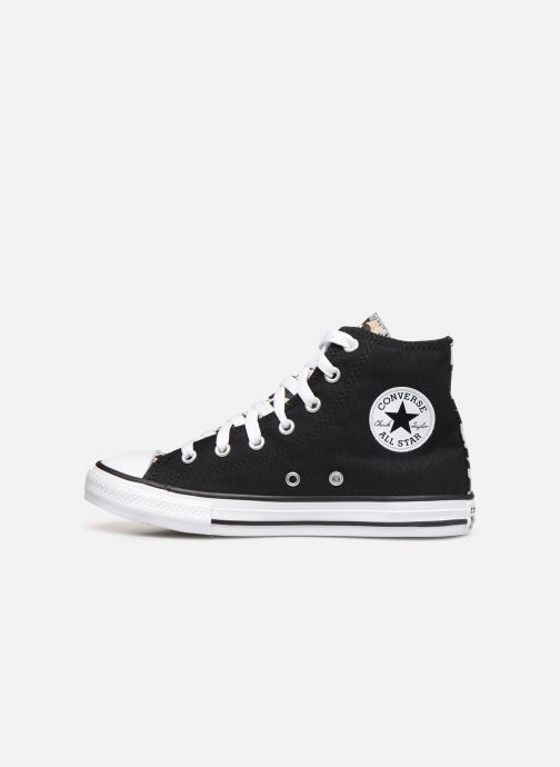 Trainers Converse Chuck Taylor All Star Archive Cheetah Hi Black front view