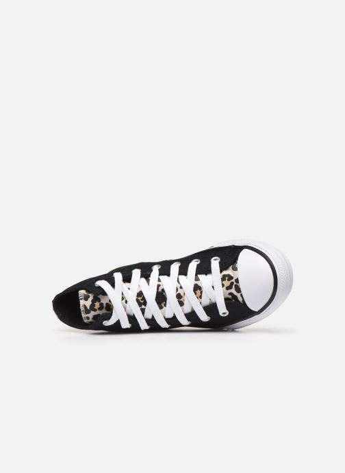 Trainers Converse Chuck Taylor All Star Archive Cheetah Hi Black view from the left