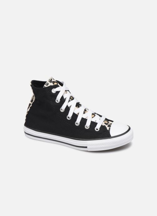 Trainers Converse Chuck Taylor All Star Archive Cheetah Hi Black detailed view/ Pair view