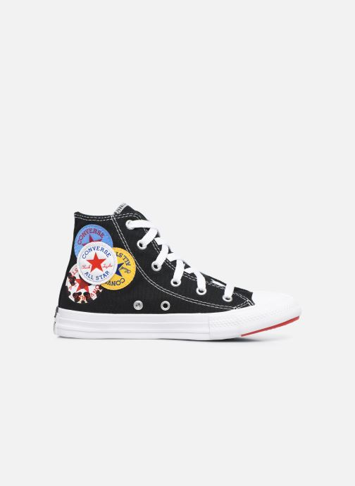 Baskets Converse Chuck Taylor All Star Logo Play Hi Noir vue derrière
