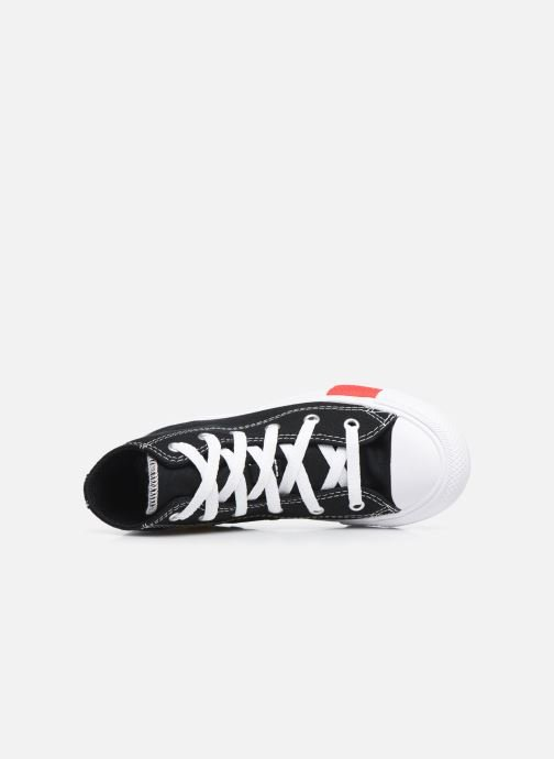 Baskets Converse Chuck Taylor All Star Logo Play Hi Noir vue gauche