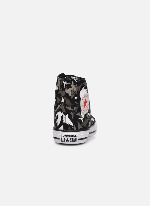 Trainers Converse Chuck Taylor All Star Shark Bite Hi Black view from the right