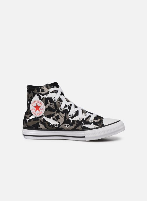 Baskets Converse Chuck Taylor All Star Shark Bite Hi Noir vue derrière